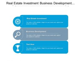 Real Estate Investment Business Development Conflict Resolution Business Management Cpb