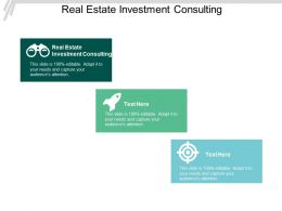 Real Estate Investment Consulting Ppt Powerpoint Presentation Styles Summary Cpb