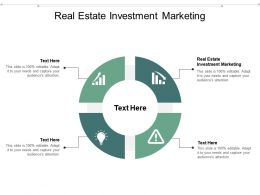 Real Estate Investment Marketing Ppt Powerpoint Presentation Inspiration Graphics Pictures Cpb