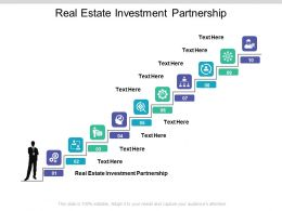 Real Estate Investment Partnership Ppt Powerpoint Presentation Backgrounds Cpb
