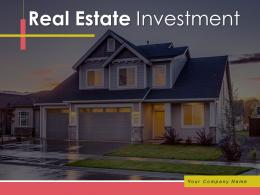 Real Estate Investment Powerpoint Presentation Slides