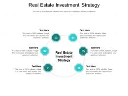 Real Estate Investment Strategy Ppt Powerpoint Presentation Styles Templates Cpb