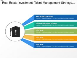 real estate investment talent management strategy marketing strategy cpb