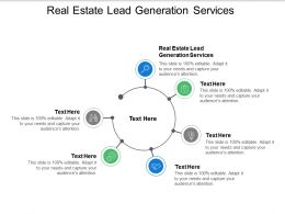 Real Estate Lead Generation Services Ppt Powerpoint Presentation Inspiration Infographic Template Cpb