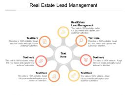 Real Estate Lead Management Ppt Powerpoint Presentation Layouts Clipart Images Cpb