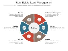 Real Estate Lead Management Ppt Powerpoint Presentation Summary Design Ideas Cpb