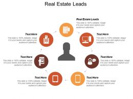Real Estate Leads Ppt Powerpoint Presentation Icon Graphics Download Cpb
