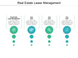 Real Estate Lease Management Ppt Powerpoint Presentation Styles Example File Cpb