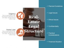 Real Estate Legal Structure Ppt Summary
