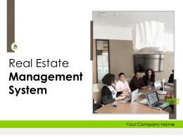 Real Estate Management System Powerpoint Presentation Slides
