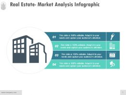 Real Estate Market Analysis Infographic Example Of Ppt