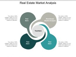 Real Estate Market Analysis Ppt Powerpoint Presentation Gallery Deck Cpb