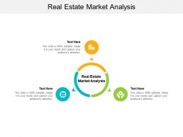 Real Estate Market Analysis Ppt Powerpoint Presentation Inspiration Graphic Cpb