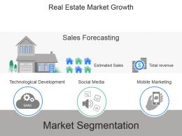 Real Estate Market Growth Powerpoint Slide Presentation Guidelines