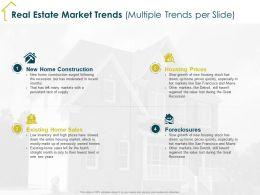 Real Estate Market Trends Multiple Trends Per Slide Detroit Ppt Powerpoint Presentation Inspiration Background