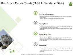 Real Estate Market Trends Multiple Trends Per Slide July Ppt Powerpoint Presentation File Pictures