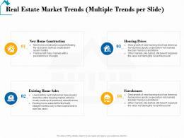 Real Estate Market Trends Multiple Trends Per Slide Real Estate Detailed Analysis