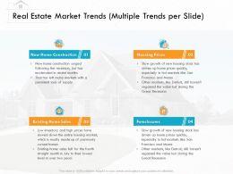 Real Estate Market Trends Multiple Trends Per Slide Recent Ppt Powerpoint Presentation Layout