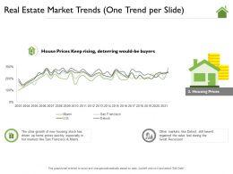 Real Estate Market Trends One Trend Per Slide Lost Ppt Powerpoint Presentation Gallery Brochure
