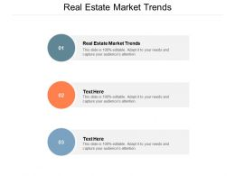 Real Estate Market Trends Ppt Powerpoint Presentation Outline Ideas Cpb
