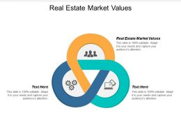 Real Estate Market Values Ppt Powerpoint Presentation Infographic Template Guide Cpb