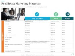 Real Estate Marketing Materials Marketing Plan For Real Estate Project