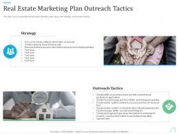 Real Estate Marketing Plan Outreach Tactics Marketing Plan For Real Estate Project