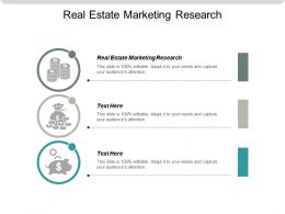 Real Estate Marketing Research Ppt Powerpoint Presentation Gallery Design Ideas Cpb