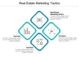 Real Estate Marketing Tactics Ppt Powerpoint Presentation Ideas Example File Cpb
