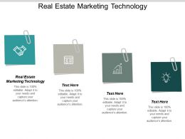 Real Estate Marketing Technology Ppt Powerpoint Presentation Show Objects Cpb