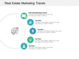 Real Estate Marketing Trends Ppt Powerpoint Presentation Pictures Backgrounds Cpb