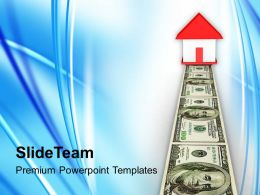 Real Estate Money Business Powerpoint Templates Ppt Themes And Graphics 0113