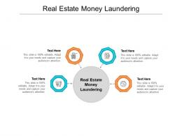 Real Estate Money Laundering Ppt Powerpoint Presentation File Smartart Cpb