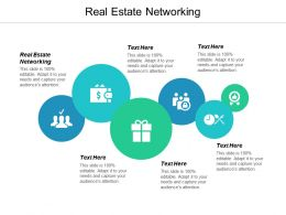 Real Estate Networking Ppt Powerpoint Presentation Ideas Files Cpb