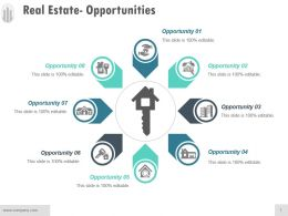 Real Estate Opportunities Ppt Background Template