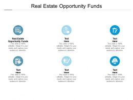 Real Estate Opportunity Funds Ppt Powerpoint Presentation Layouts Outfit Cpb