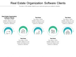 Real Estate Organization Software Clients Ppt Powerpoint Presentation Infographic Template Cpb