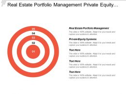 Real Estate Portfolio Management Private Equity Systems Collections Strategies Cpb