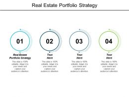 Real Estate Portfolio Strategy Ppt Powerpoint Presentation Layouts Rules Cpb