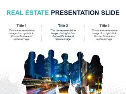 Real Estate Presentation Slide Powerpoint Layout