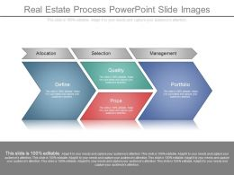 Real Estate Process Powerpoint Slide Images