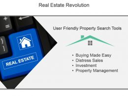 Real Estate Revolution Powerpoint Slide Presentation Sample