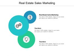 Real Estate Sales Marketing Ppt Powerpoint Presentation Outline Summary Cpb