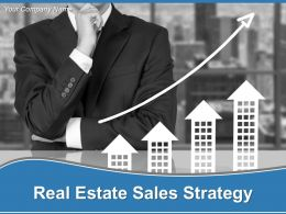 Real Estate Sales Strategy Powerpoint Presentation Slides
