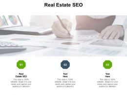 Real Estate SEO Ppt Powerpoint Presentation Model Example Introduction Cpb