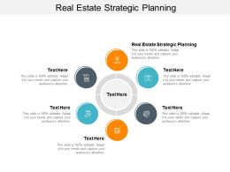 Real Estate Strategic Planning Ppt Powerpoint Presentation Infographics Files Cpb