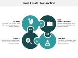 Real Estate Transaction Ppt Powerpoint Presentation Show Graphics Cpb