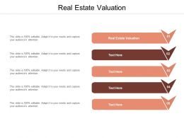 Real Estate Valuation Ppt Powerpoint Presentation Ideas Layout Cpb