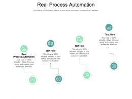 Real Process Automation Ppt Powerpoint Presentation Slides Files Cpb