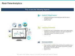 Real Time Analytics Ppt Powerpoint Presentation File Brochure